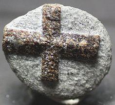 Staurolite twinned crystal Russia  Mineral by BandLMinerals www.BandLMinerals.com
