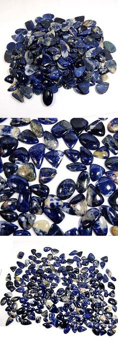 Sodalite 69179: Aaa Massive Top Class 2700 Cts 100% Natural Sodalite Loose Gemstone Lot 180 Pc BUY IT NOW ONLY: $88.5