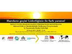 İkinci Uluslararası Kadın Girişimciliği Konferansı I Biletino