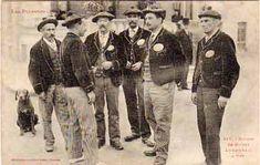 carte postale Luchon - 117 Groupe de Guides Luchonais à pied - N, Départements français : 26 à 50 31 HAUTE GARONNE