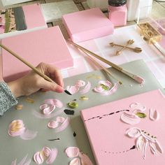 Discovered by inspiration. Find images and videos about pink, art and aesthetic on We Heart It - the app to get lost in what you love. Art Hoe Aesthetic, Aesthetic Drawing, Pink Aesthetic, Anime Beautiful, Nectar And Stone, Art Inspo, Pretty In Pink, Art Drawings, Artsy