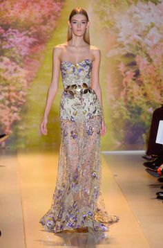 The catwalk was a spring garden in bloom for the Zuhair Murad Couture show:  http://uk.bazaar.com/1hOl6K3