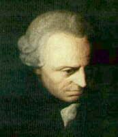 Immanuel Kant: was a German philosopher from Königsberg (today Kaliningrad of Russia), researching, lecturing and writing on philosophy and anthropology at the end of the 18th century Enlightenment.