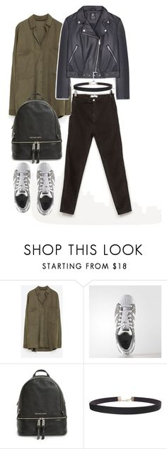 """OOTD 20-03-2017"" by theeuropeancloset ❤ liked on Polyvore featuring MICHAEL Michael Kors, Humble Chic, michaelkors, ootd, zara and primark"