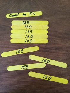 Fun Games 4 Learning: Counting Puzzles with Popsicle Sticks...Love this because it is so very simple, and so very effective!