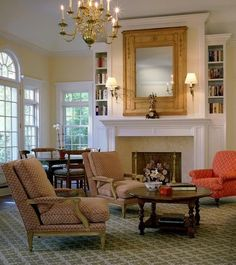 Traditional Living Room Fireplace Mantel Design, Pictures, Remodel, Decor and Ideas - page 415