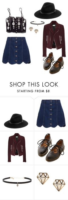 """Cool Kid"" by rebellious-ingenue ❤ liked on Polyvore featuring Stone_Cold_Fox, rag & bone, Balenciaga, Dr. Martens and Carbon & Hyde"