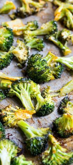 Spicy Roasted Broccoli- so good you'll want to eat it right off the pan!