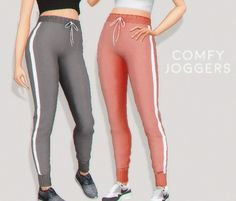 Pure Sims - Comfy joggers for The Sims 4