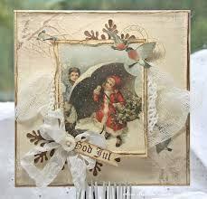 God Jul ~ Merry Christmas by Anne Kristine for Pion Design Create Christmas Cards, Christmas Tag, Christmas Greeting Cards, Christmas Photos, All Things Christmas, Handmade Christmas, Christmas Crafts, Shabby Chic Christmas, Vintage Christmas
