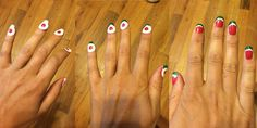 #ManiMonday Watermelon Nail Art DIY Tutorial - 5 EASY Steps