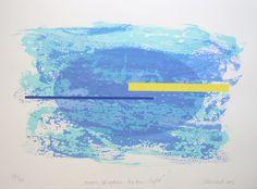 Gretchen Albrecht Moon Shadow Ocean Light Parnell Gallery New Zealand Print…