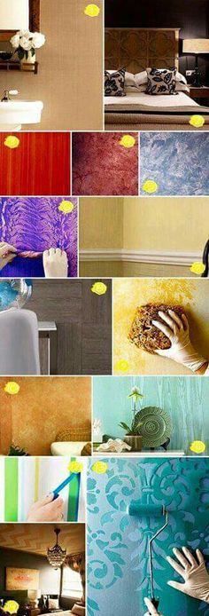Guthrie For Mom Go To Bottom And Click Martha Stewart Directions Textured Painting Ideas