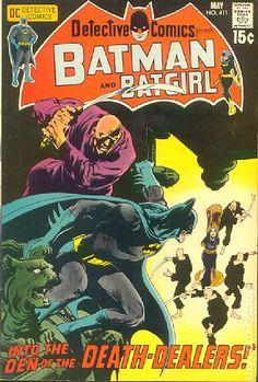 Detective Comics (1937 1st Series) 411 Batman and Batgirl dc comic book vintage