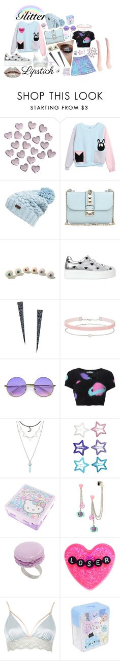 """""""reflecting"""" by blackpool ❤ liked on Polyvore featuring Crate and Barrel, Barbour, Valentino, Kenzo, Lana, Miss Selfridge, ZeroUV, Jeremy Scott, H&M and Hello Kitty"""