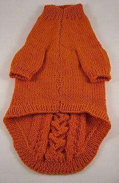 Dog sweater Knit dog sweater Dog sweater medium by DesignedForDog