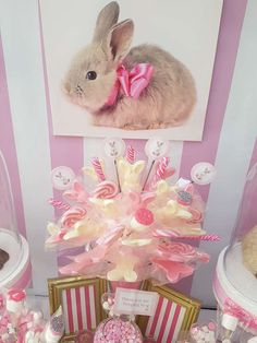 Dale K's Baby Shower / Bunny - Photo Gallery at Catch My Party Shower Party, Baby Shower Parties, Baby Showers, Bunny Birthday, Birthday Ideas, Girl Parties, Baby Party, Decoration, Ava