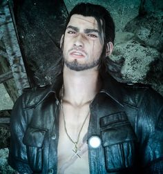 Arte Final Fantasy, Fantasy Series, Final Fantasy 15 Gladiolus, My Heart Is Breaking, Best Games, Art Reference, Videogames, Daddy Issues, 3d Character