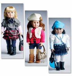 Doll+Clothes+Pattern+18+inch+Doll+Clothes+Pattern+18+in+by+blue510,+$4.00