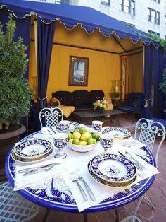 The French Tangerine .. Gorgeous Dinnerware <3