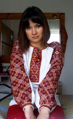 Ukrainian embroidered shirts