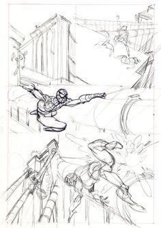 Original Comic Art:Miscellaneous, Gil Kane Amazing Spider-Man #121 Page 14 PreliminaryOriginal Art (Marvel, 1973)....