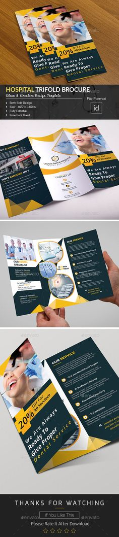 The 115 best # Trifold Brochure Templates Designs images on