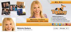 Facebook cover photo example: Melonie Dodaro cover photo