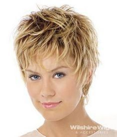 Short hairstyles for thick coarse
