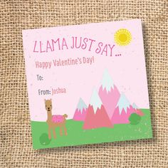 Valentines For Boys, Valentine Day Gifts, Valentine Activities, Heart Day, Personalized Gift Tags, Bag Toppers, Card Stock, Love, Pink
