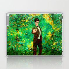11th Doctor abstract art Laptop & iPad Skin @pointsalestore @society6thresecond #laptop #ipadskin #Painting #Digital #Oil #Acrylic #Streetart #Abstract #Tardis #Doctorwho #Doctor #who #Mattsmith #11thdoctor #Scifi #Vangogh #Starrynight #Dalek #Cyberman #Geek #Whovian #Green #Fullcolor #Fanart