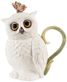 Edie Rose by Rachel Bilson Dinnerware, Owl Teapot - Casual Dinnerware - Dining & Entertaining - Macy's