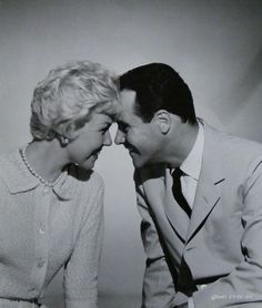 """Doris Day and Jack Lemmon in """"It Happened to Jane"""", 1959"""