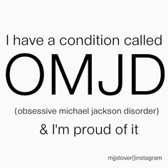 One condition that I'm proud of!!!  ;)