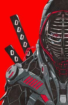 Chun Lo on – Samurai Champloo Ninja Kunst, Arte Ninja, Ninja Art, Mode Cyberpunk, Cyberpunk Kunst, Character Concept, Character Art, Concept Art, Samurai Wallpaper