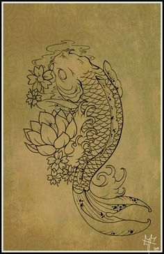 Koi Carp Tattoo by ~Dragodelbuio on deviantART