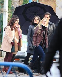 #OnceUponATime cast filming 4x12 - November 18, 2014