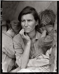 Dorothea Lange  was an influential American documentary photographer and photojournalist, best known for her Depression-era work in which her images humanized the consequences of the Great Depression