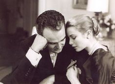 "Grace Patricia Kelly (1929-1982) of America & King Rainer III (Rainier Louis Henri Maxence Bertrand Grimaldi) (1923-2005) of Monaco. After their brief courtship an elaborate wedding took place. The ceremony was watched by an estimated 30 million people on television. As Princess of Monaco, she founded AMADE Mondiale, a Monaco-based non-profit organization to and the ""moral and physical integrity"" & ""spiritual well-being of children throughout the world."