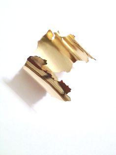Portugal bracelet. Brass. 2013
