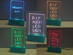 Plexiglas+LED+sign+by+MrFox.