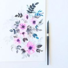 HELP please. I've entered this painting of mine for a contest on Minted. Would you pretty please hop over to the link in my profile and vote for me? I would really appreciate it. Thank you! #Inkstruck #floralprint