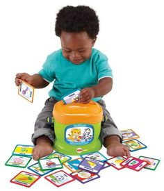 Baby,Toddler First Words Educational Flash Cards Letter Recognition Toy Game