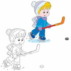 Cool Winter Coloring Pages Colouring Pages, Coloring Books, Animal Worksheets, Vader Star Wars, Hockey Players, Winter Sports, Mittens, Vector Art, Smurfs
