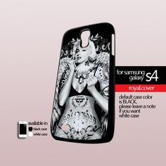 Marilyn Monroe Tattoo Angel - Print On Hard Case For Samsung Galaxy S4 i9500