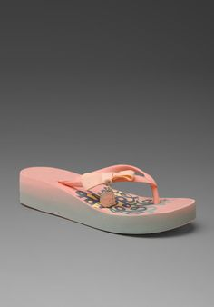d86b10485e96 Shop for Juicy Couture Cayenne Flip Flop in Cantaloupe at REVOLVE.