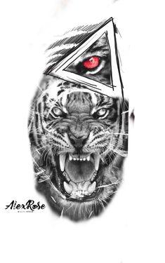Yogi Tattoo, Cat Tattoo, Tattoo Drawings, Body Art Tattoos, Wolf Tattoos, Animal Tattoos, Tattoo Script, Arm Band Tattoo, Tiger Tattoo Design