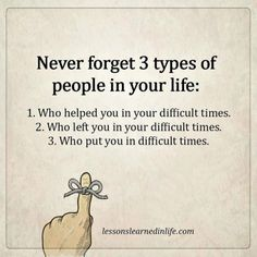 Lessons Learned in LifeNever forget these three types. - Lessons Learned in Life Wisdom Quotes, True Quotes, Words Quotes, Sayings, Blame Quotes, Strong Quotes, Positive Quotes, Buddha Quotes Inspirational, Life Quotes Pictures