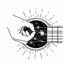 гитара как космос