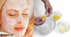 It Tightens The Skin Better Than Botox: This 3 Ingredients Face Mask Will Make You Look 10 Years Younger Egg White Mask, Face Mask For Spots, Anti Ride, Natural Facial, Homemade Face Masks, Prevent Wrinkles, Acne Prone Skin, Skin Brightening, Face Skin
